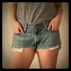 Levi's Urban Renewal Denim Shorts